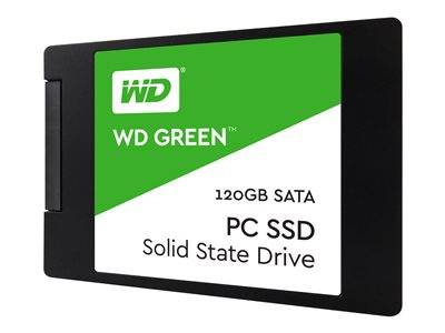 "Wd green ssd wds120g2g0a - disque ssd - 120 go - interne - 2.5"" - sata 6gb/s"