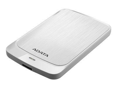 Adata hv320 - disque dur - 1 to - externe (portable) - usb 3.1 - blanc