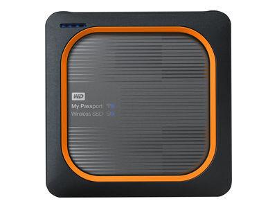 Wd my passport wireless ssd wdbamj0010bgy - stockage mobile sans fil - 1 to -...
