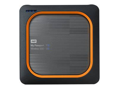 Wd my passport wireless ssd wdbamj5000agy - stockage mobile sans fil - 500 go...
