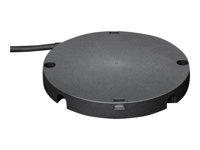Logitech rally mic pod hub - adaptateur d'interface de microphone - pour rall...