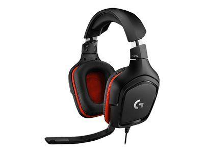 Logitech gaming headset g332 - micro-casque - circum-aural - filaire - jack 3...