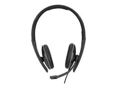 Sennheiser sc 160 - sc 100 series - casque - sur-oreille - filaire - usb - noir
