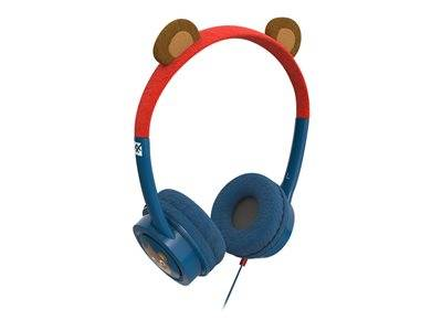Ifrogz little rockerz costume bear - casque - sur-oreille - filaire - jack 3,5mm