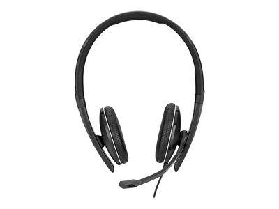 Sennheiser sc 165 - sc 100 series - casque - sur-oreille - filaire - suppress...