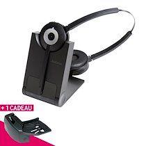 Jabra Casque gn netcom jabra pro 920 2 écouteurs avec levier décroché offert