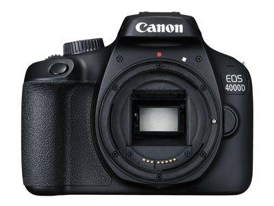 Canon eos 4000d - appareil photo numérique - reflex - 18.0 mp - aps-c - 1080p...