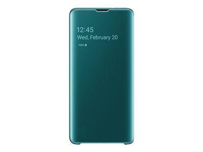 Samsung clear view cover ef-zg973 - protection à rabat pour téléphone portabl...