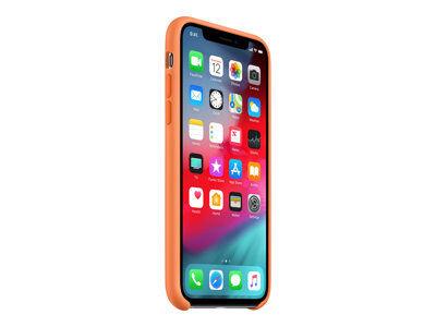 Apple smart - coque de protection pour téléphone portable - silicone - papaye...