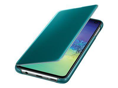 Samsung clear view cover ef-zg970 - protection à rabat pour téléphone portabl...