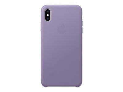 Apple smart - coque de protection pour téléphone portable - cuir - lilas - po...