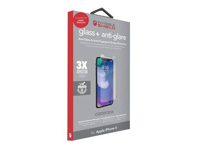 Zagg invisibleshield glass+ - protection d'écran - pour apple iphone xs