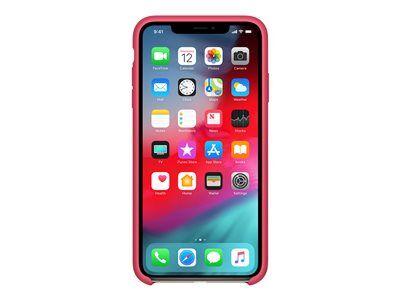 Apple - coque de protection pour téléphone portable - silicone - hibiscus - p...