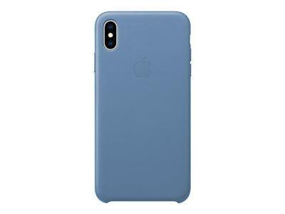 Apple smart - coque de protection pour téléphone portable - cuir - bleuet - p...