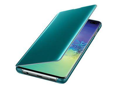 Samsung clear view cover ef-zg975 - protection à rabat pour téléphone portabl...