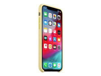 Apple - coque de protection pour téléphone portable - silicone - jaune - pour...