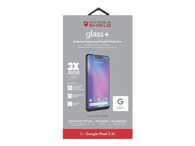 Zagg invisibleshield glass+ - protection d'écran - pour google pixel 3 xl