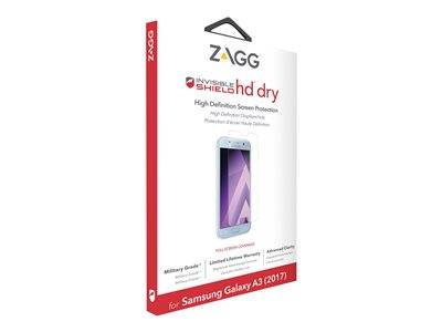 Zagg invisibleshield hd dry - protection d'écran - pour samsung galaxy a3 (2017)
