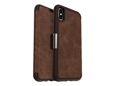 Otterbox strada series - protection à rabat pour téléphone portable - cuir, p...