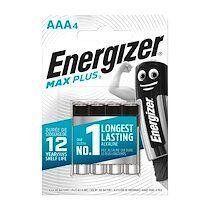 Energizer Pile alcaline aaa - 4 piles lr3 energizer max plus