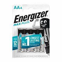 Energizer Pile alcaline aa - 4 piles lr6 energizer max plus