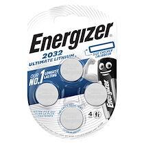 Energizer Pile bouton ultimate lithium cr2032 energizer - blister de 4 piles