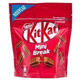 Kitkat Barre chocolatée kitkat mini - sachet de 104 g