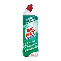 Wc net Gel wc net professionnel triple action - flacon de 800 ml