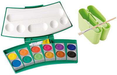 Boîte de peinture procolor 735, 24 couleurs,aspérule