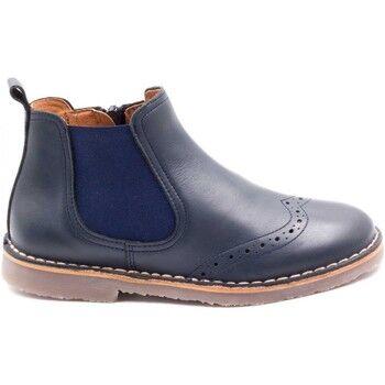 Boni   Sidonie Boni Sidonie Boots enfant Boots de style anglais en cuir à zip - MALO