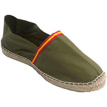 Made In Spain 1940 Espadrilles Sandales de chanvre avec le drapeau de l