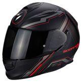 Scorpion Exo 510 Air Sync Matte Black Neon Red