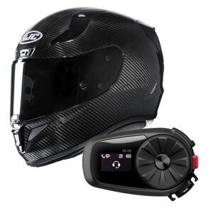 HJC RPHA 11 Carbon Black + Kit Bluetooth Sena 5S Solo - Publicité