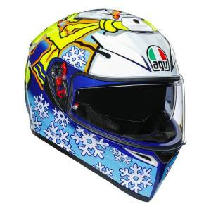 AGV K3 SV Rossi Winter Test 2016 - Publicité