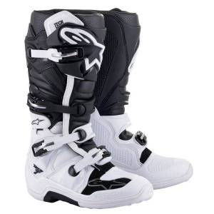 Alpinestars TECH 7 White Black - Publicité