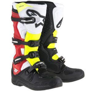 Alpinestars Tech 5 Black Red Yellow Fluo - Publicité