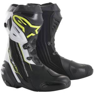 Alpinestars Supertech R Black Yellow Fluo White - Publicité