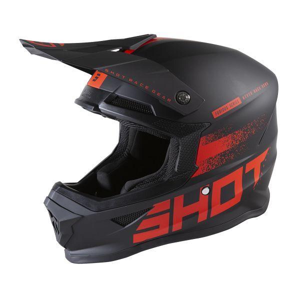 SHOT Furious Raw 2.0 Black Red Matt