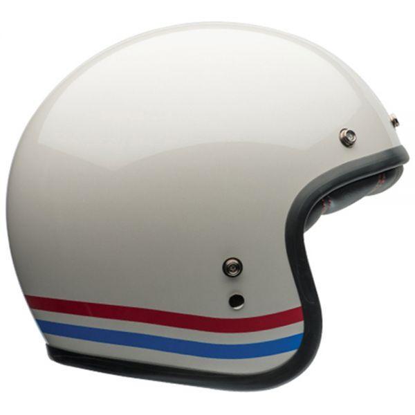 Bell Custom 500 Stripes Pearl White Dlx