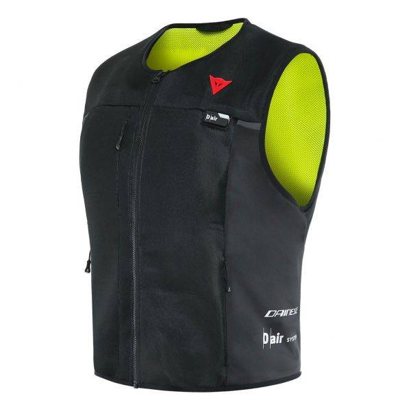 Dainese Smart Jacket Airbag Lady Black Fluo Yellow