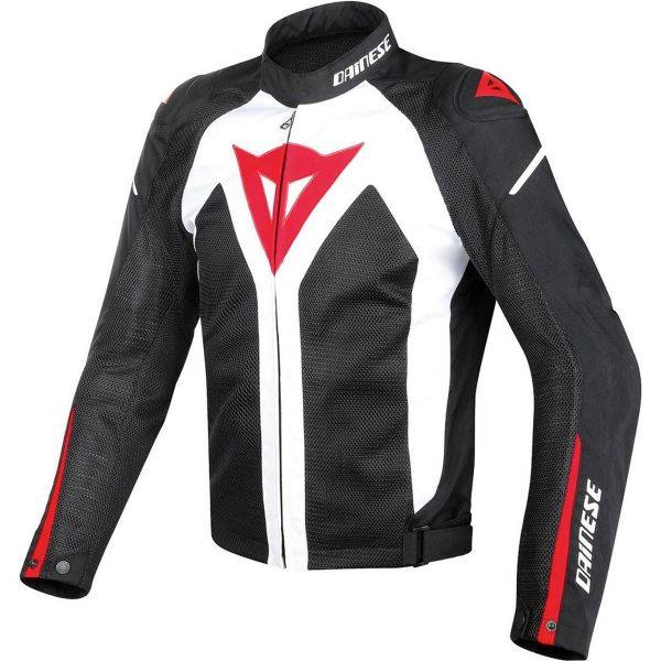Dainese Hyper Flux D-Dry White Black Red