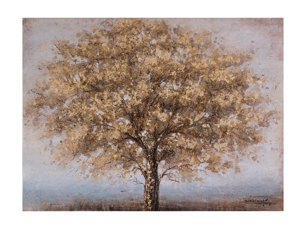 Vente-unique Peinture à l'huile arbre NYSSA - 90*120 cm