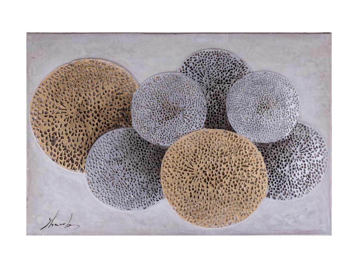 Vente-unique Peinture à l'huile abstraite ANNABELLE - 80*120 cm