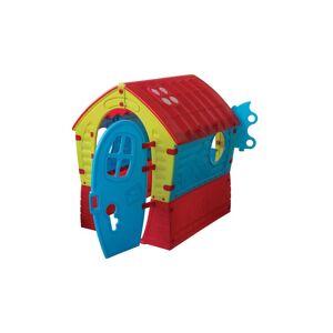 Vente-unique Maisonnette pour enfant SUZON - L95 x P90 x H110 cm - Publicité