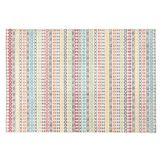 Tapis design 'CLOCLO' 160/230 cm motifs graphiques multicolores