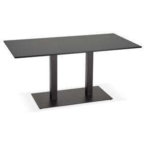Table / bureau design 'AUSTIN' noir - 160x80 cm - Publicité