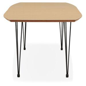 Table à dîner / de réunion extensible 'MOTUS' en bois finition naturelle - 170(270)x100 cm - Publicité