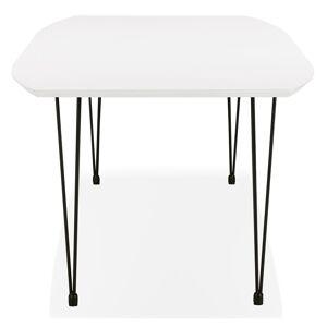 Table à dîner / de réunion extensible 'MOTUS' blanche - 170(270)x100 cm - Publicité