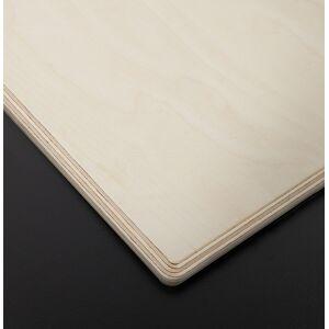 Plateau de table 'PLANO' rond Ø 68cm noir en résine compressée - Publicité