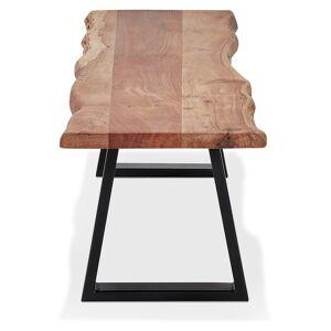 Banc style industriel 'RAFA BENCH' en bois massif et métal - 180 cm - Publicité